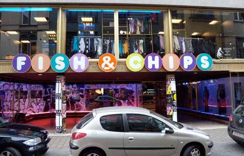 Fish And Chips Restaurant Antwerpen
