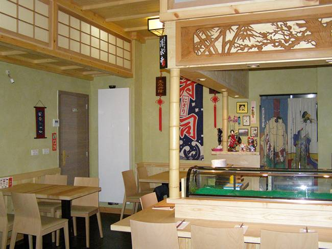 Tokyo sushi bar japans restaurant antwerpen yozo for Interieur 2000 harelbeke openingsuren